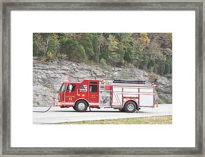Central Hardin 1033 Framed Print by Steven Townsend