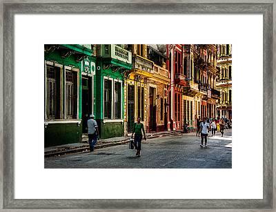 Central Havana Framed Print