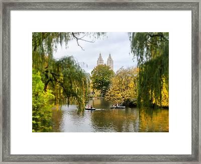 Central Park #7 Framed Print