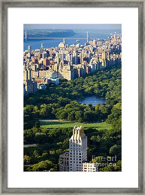 Central Park Framed Print by Brian Jannsen