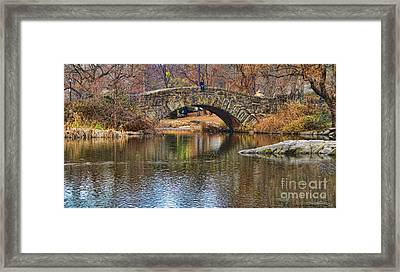 Central Park II Framed Print