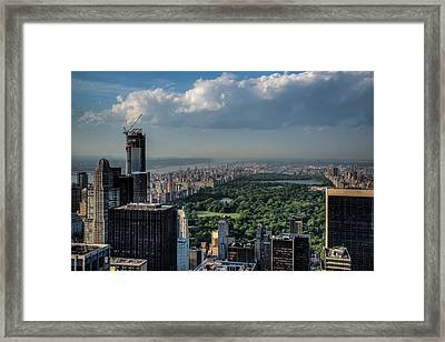 Central Park New York City Framed Print