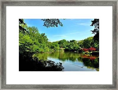 Central Park No. 2 Framed Print