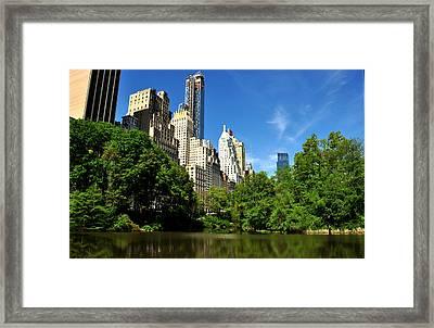 Central Park No. 3 Framed Print