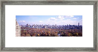 Central Park, Nyc, New York City, New Framed Print by Panoramic Images