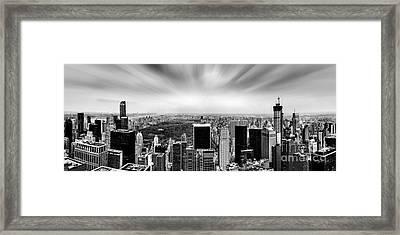Central Park Perspective Framed Print