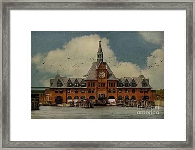 Central Railroad Of New Jersey Framed Print by Juli Scalzi