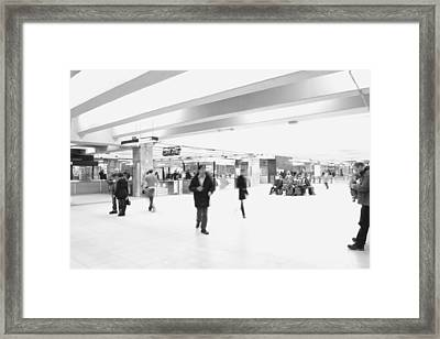 Central Station 1 Framed Print by Eric Soucy