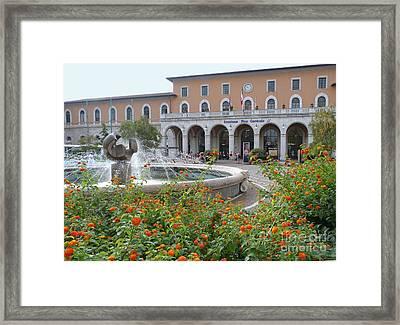 Central Station - Pisa Framed Print