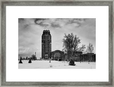 Central Terminal 4431 Framed Print by Guy Whiteley