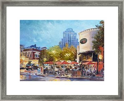 Central West End - St.louis Framed Print