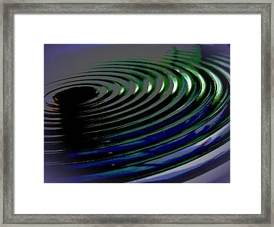 Centrifugal Abstract Framed Print
