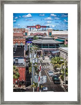 Centro Framed Print by Ybor Photography