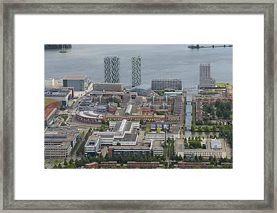 Centrum Almere, Flevoland Framed Print
