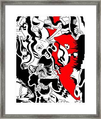 Century 21 Framed Print
