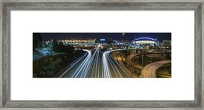 Century Link Stadium Framed Print by Casey Grant