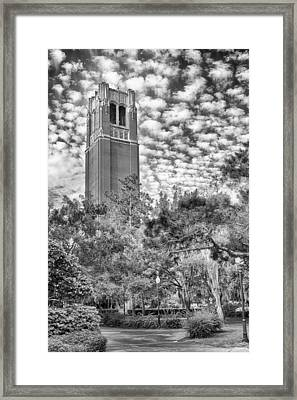 Century Tower Framed Print by Howard Salmon