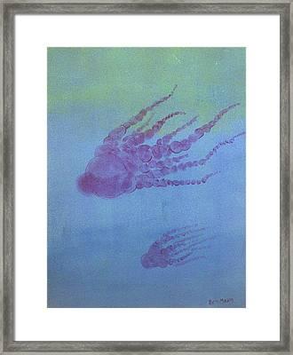 Cephalopod Framed Print by Rich Mason