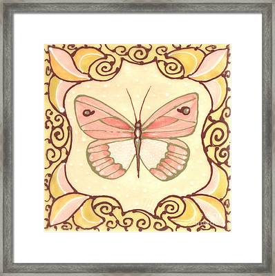 Ceramic Butterfly 2 Framed Print