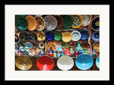 African Ceramics Framed Prints
