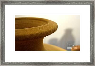Ceramics Mood Framed Print
