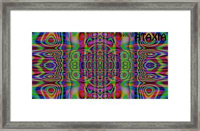 Cerebellar Ataxia Art II Framed Print by Sandra Pena de Ortiz