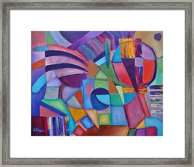 Cerebral Decor # 2 Framed Print