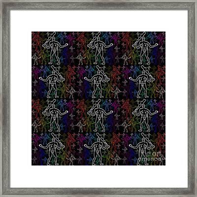 Cerne Abbas Giants Framed Print by Neil Finnemore