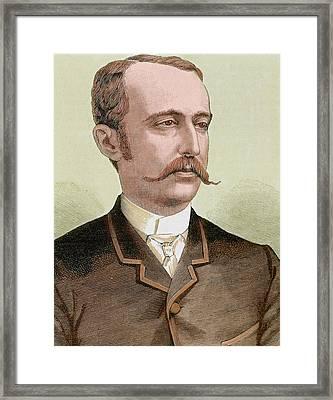 Cerralbo Enrique De Aguilera Y Gamboa Framed Print