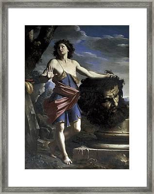 Cerrinigiovanni Domenico 1609-1681 Framed Print by Everett