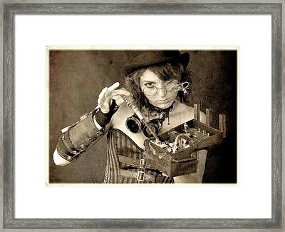 Certain Improving Modifications Were Required For The Device To Meet Her E Framed Print