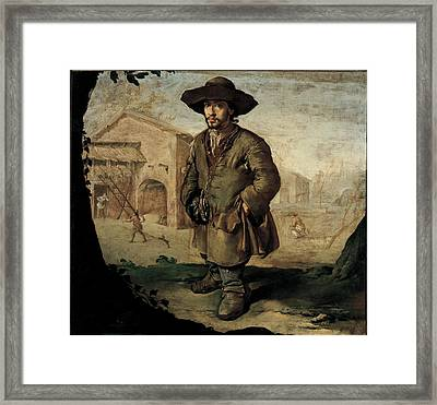 Ceruti Giacomo Know As Pitocchetto, The Framed Print by Everett