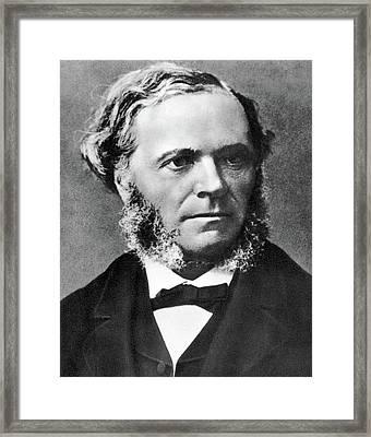 Cesar Auguste Franck (1822-1890) Framed Print
