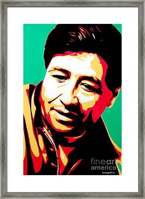 Cesar Chavez Framed Print