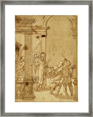 Cesare Nebbia Italian, C. 1536 - C. 1614 Framed Print