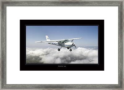 Cessna 152 Framed Print by Larry McManus