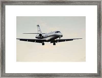 Cessna Citation Sovereign  Framed Print