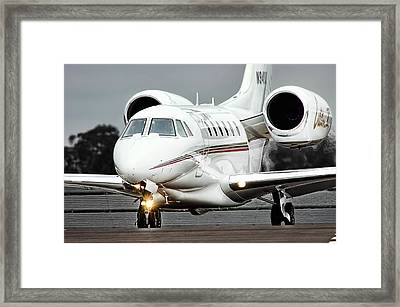 Cessna Citation X Framed Print by James David Phenicie