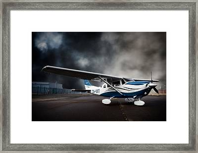 Cessna Ground Framed Print