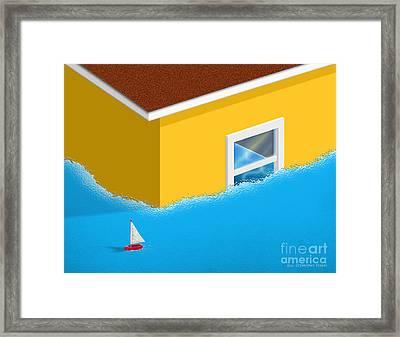 C'est La Vie Framed Print by Cristophers Dream Artistry