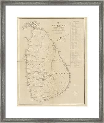 Ceylon Framed Print