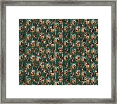 Cf Whitetail Deer Framed Print