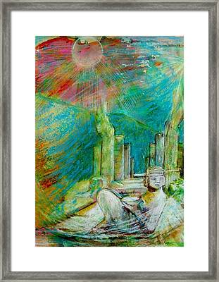 Chacmool De Chichen Itza Framed Print