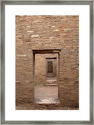 Chaco Canyon Framed Print by Steven Ralser