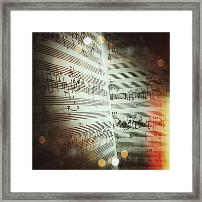 Chaconne Framed Print