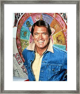 Chad Everett In The Rousters  Framed Print by Silver Screen