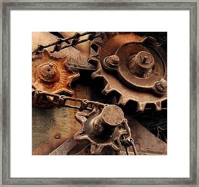 Chain Driven  Framed Print by Steven Milner