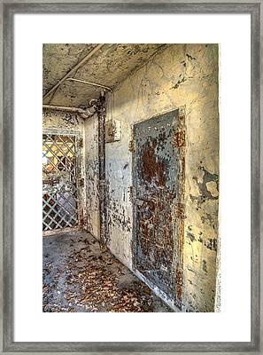 Chain Gang-2 Framed Print by Charles Hite