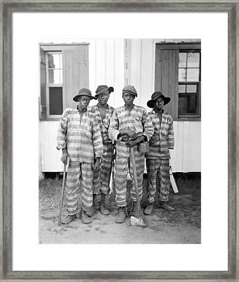 Chain Gang, C1905 Framed Print by Granger