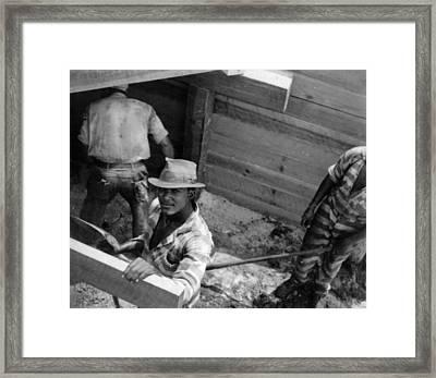 Chain Gang Framed Print by Granger